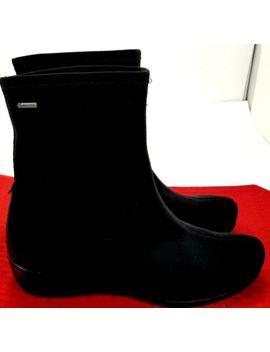 Ecco Felicia Womens 6.5 M Euro 37 Black Gore Tex Fashion Boots Vgc!!! by Ecco