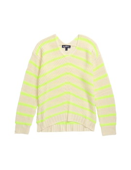 Stripe Knit Sweater by Freshman