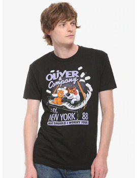 Disney Oliver & Company New York Tour T Shirt by Box Lunch