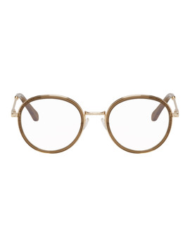Khaki Round Glasses by ChloÉ