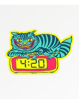 Killer Acid 420 Cat Sticker by Killer Acid