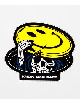 Know Bad Daze Peekaboo Sticker by Know Bad Daze
