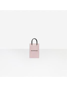 Shopping Phone Holder by Balenciaga