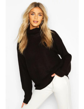 Fisherman Roll Neck Jumper Fisherman Roll Neck Jumper by Boohoo