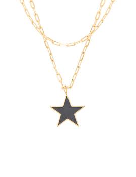 Enamel Superstar Necklace by Joolz By Martha Calvo