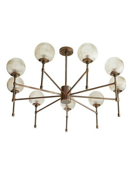 Osborne 9 Light Sputnik Sphere Chandelier by Arteriors