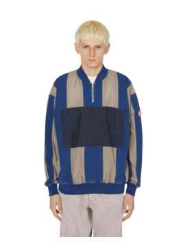 Stripe Half Zip Pullover by Cav Empt