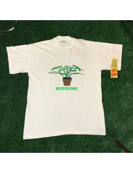 Supreme Plant Tee White S M L Xl 2xl 3 Xl 2017 T Shirt.Usa Size by Gildan