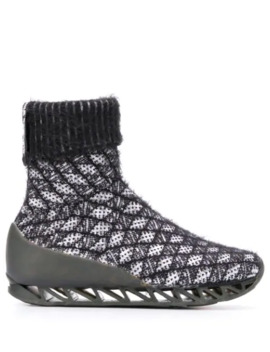 X Camper Together Himalayan Sock Boots by Bernhard Willhelm