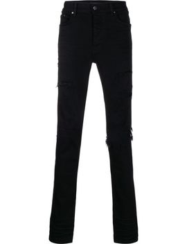 Schmale Distressed Jeans by Amiri