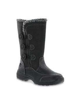 Totes Women's Mya Button Boot Wide Width by Totes