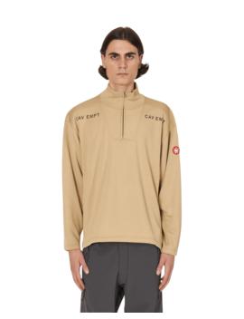 Block Fleece Half Zip Sweatshirt by Cav Empt