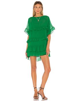 Mona Mini Dress In Viridian Green by Lovers + Friends