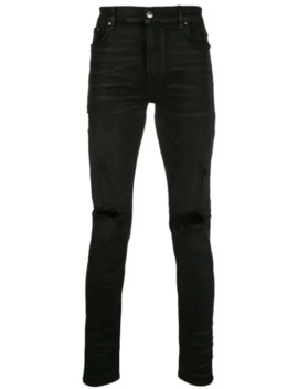 'trasher' Distressed Jeans by Amiri