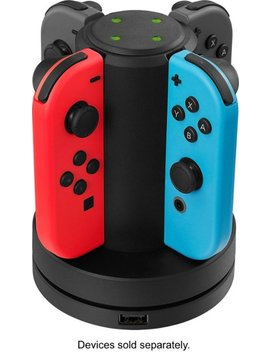 Joy Con Charging Station For Nintendo Switch   Black by Insignia™