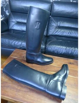 New Regent Police Riding Men's Black Leather Boots Size 11( R5602 N) Narrow Fit by Ebay Seller