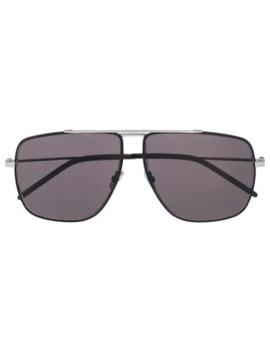 Sonnenbrille Mit Eckigem Gestell by Saint Laurent Eyewear