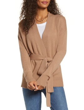 Wrap Cashmere Cardigan by Halogen®