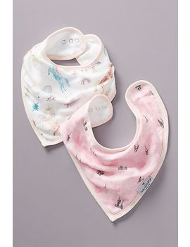 Jamie Bibs, Set Of 2 by Loulou Lollipop