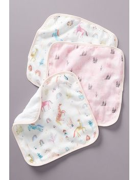 Jamie Washcloths, Set Of 3 by Loulou Lollipop