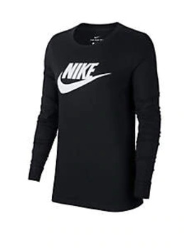 Essential Long Sleeve Icon T Shirt by Nike