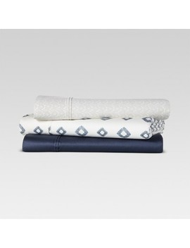 400 Thread Count Printed Performance Sheet Set   Threshold™ by Shop Collections
