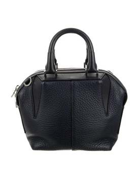 Grained Leather Satchel by Alexander Wang