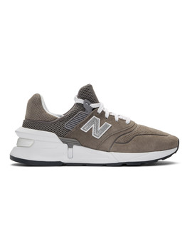 Grey New Balance Edition Ms997 Sneakers by Comme Des GarÇons Homme