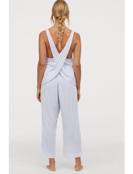Piżama W Paski by H&M