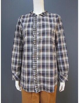 45rpm 45 R 100  Percents Cotton Shirt / Top New With Tag    Size 4  Frills Down The Front by 45rpm 45 R