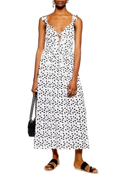 Heart Knot Maxi Dress by Topshop
