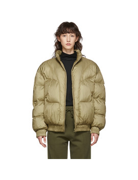 Khaki Kristen Puff Jacket by Isabel Marant Etoile