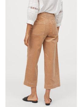 Панталон от рипсено кадифе by H&M