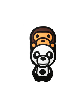 Bape Baby Milo On Panda Cushion White by Stock X