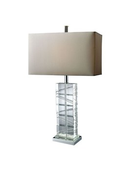Dimond Avalon Clear Led Table Lamp by Dimond