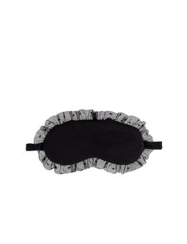 Iona Ruffle Eye Mask by Eberjey