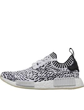Adidas Originals Nmd R1 Primeknit Trainers Footwear White/Footwear White/Core Black by Adidas Originals