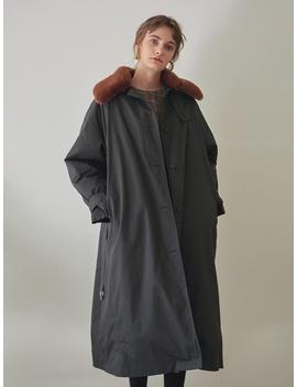 Faux Fur Military Padding Coat by Yan13