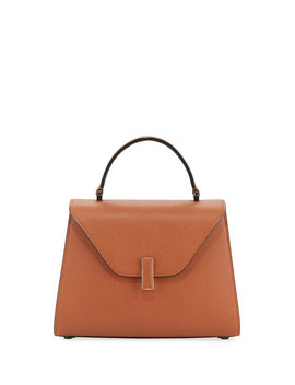 Iside Leather Top Handle Bag by Valextra