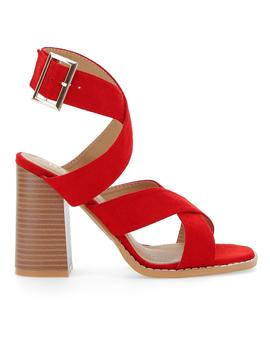 Raid Abree Crossover Sandals Wide E Fit by Simply Be