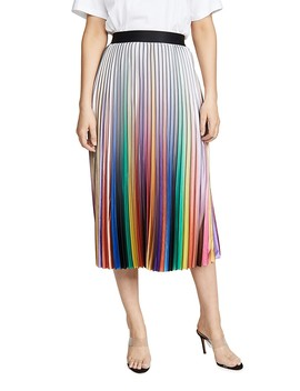 Rainbow Room Pleated Skirt by Le Superbe