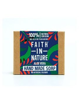 Faith In Nature Aloe Vera Hand Made Soap 100g by Faith In Nature
