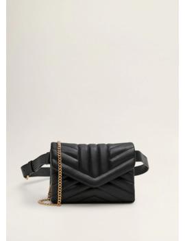 Flap Crossbody Belt Bag by Mango