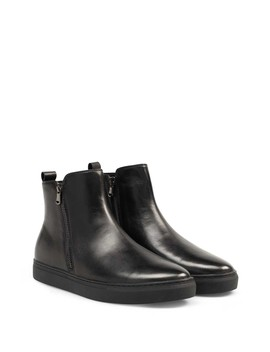Rommel Leather Boot by Bacco Bucci