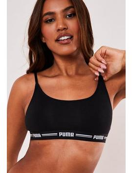 Puma Black Casual Bralette by Missguided