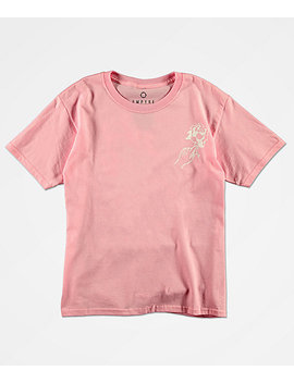 Empyre Boys Ardent Rose Pink T Shirt by Empyre