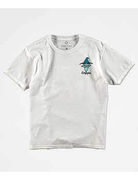 Empyre Boys Sorcery White T Shirt by Empyre