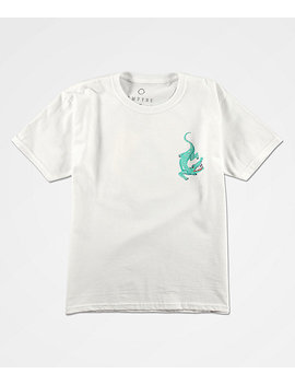 Empyre Boys Imix White T Shirt by Empyre