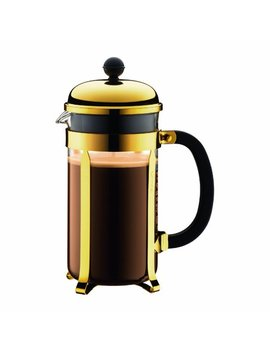 Chambord French Press Coffee Maker, 34 Oz., Gold by Bodum