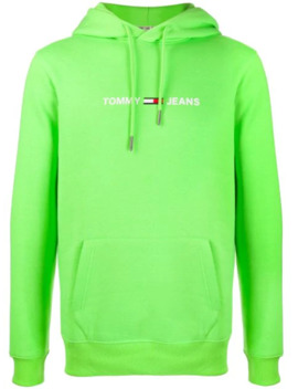 Neon Logo Hoodie by Tommy Jeans